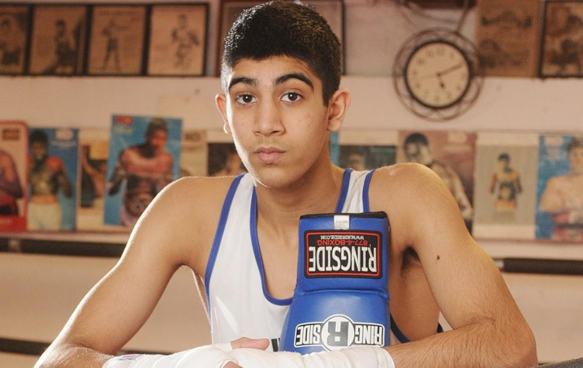 Young Indo-Canadian boxer beats champion