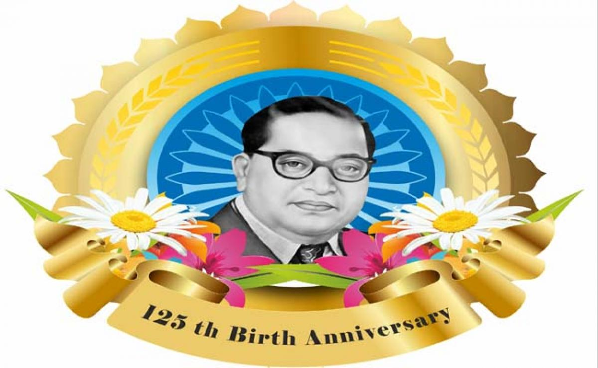 Tributes pour in for Dr. Ambedkar on 125th birth anniversary