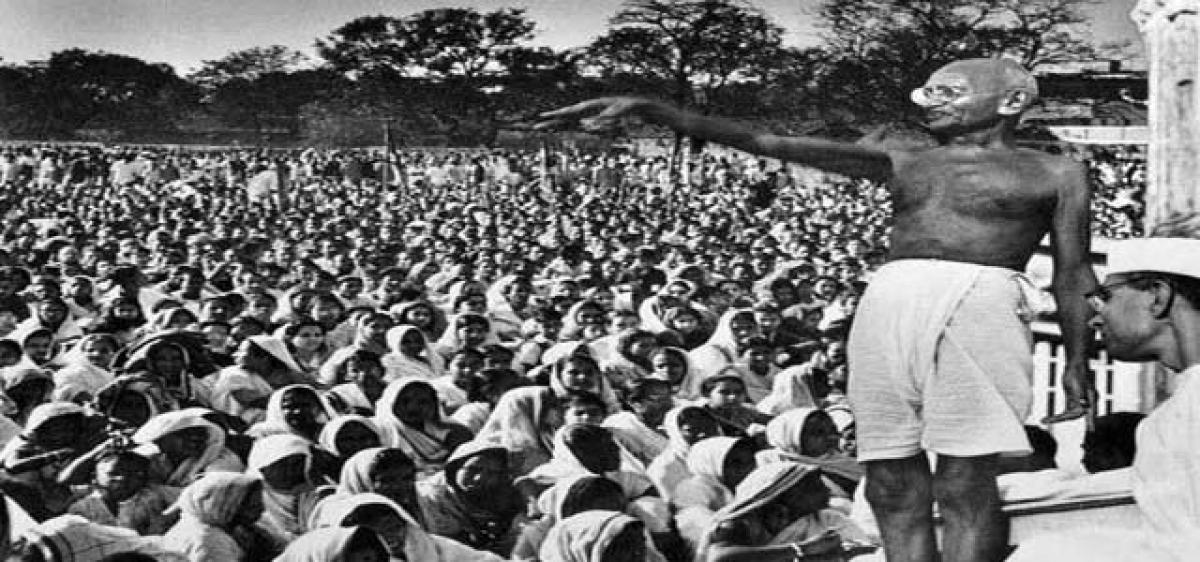 Satyagraha more relevant than ever