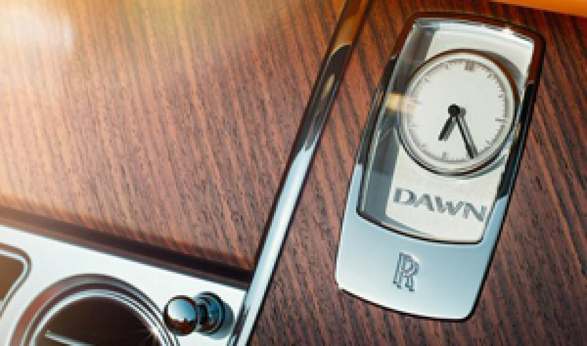 Rolls-Royce Dawn to be launched today