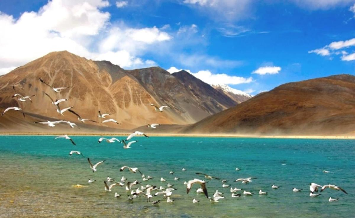 Tourist hotspot Ladakhs Pangong lake on threat to extinction
