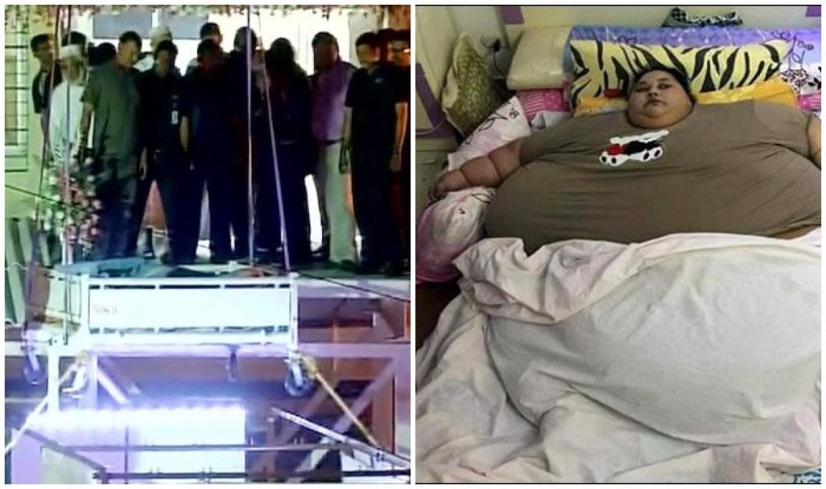 World's heaviest woman reaches Mumbai for surgery