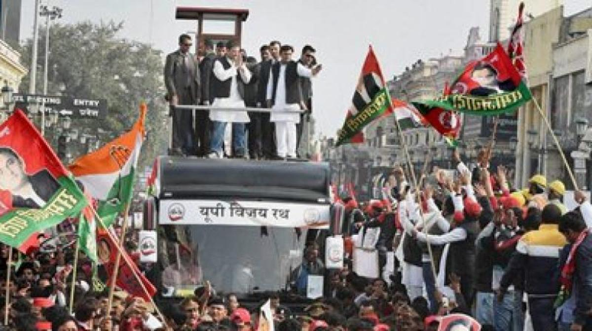 Hand to steer Cycle and defeat BJP in UP: Akhilesh, Rahul