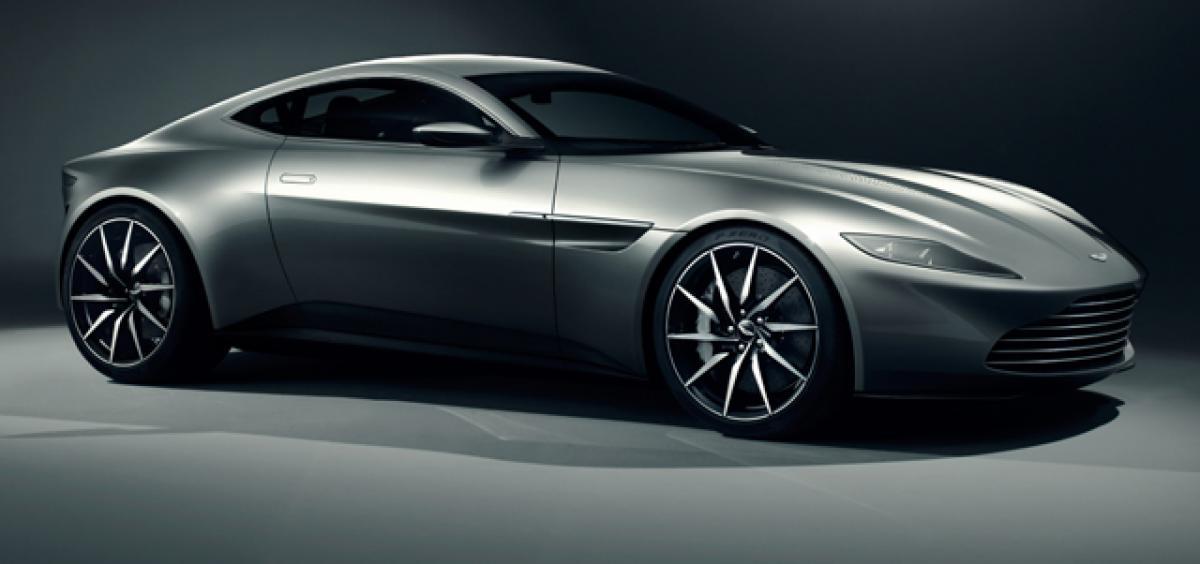 James Bonds Aston Martin DB10 has a flamethrower