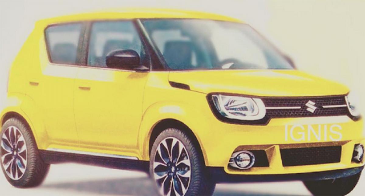 Production Spec iM-4 concept to be called Suzuki Ignis