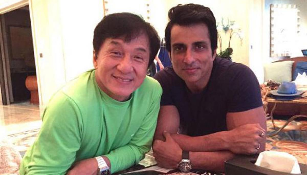 Jackie Chan New Year gift for Sonu Sood!