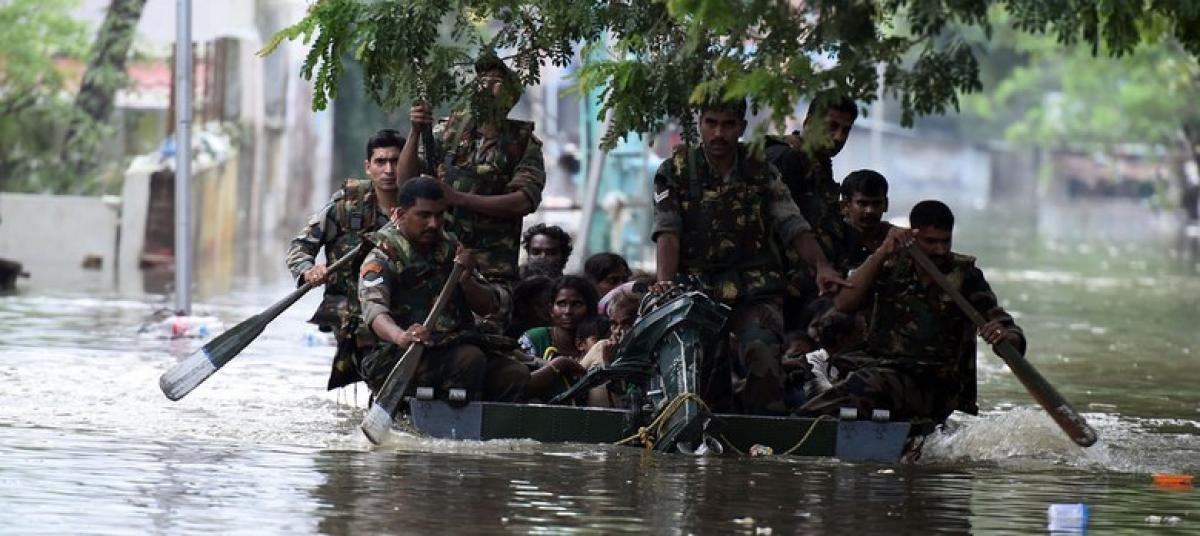 Water level recedes in Chennai, rescue operation on