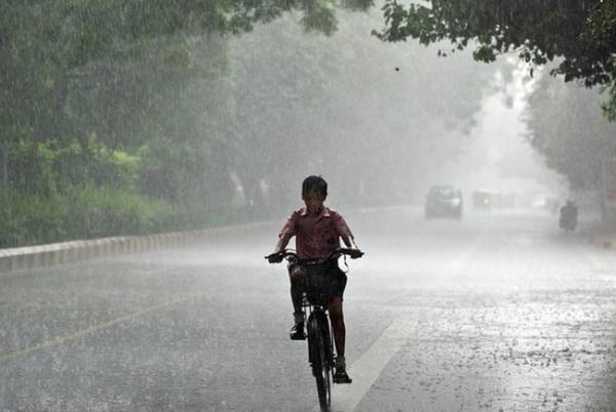 Light rain on Sunday brings respite from heat