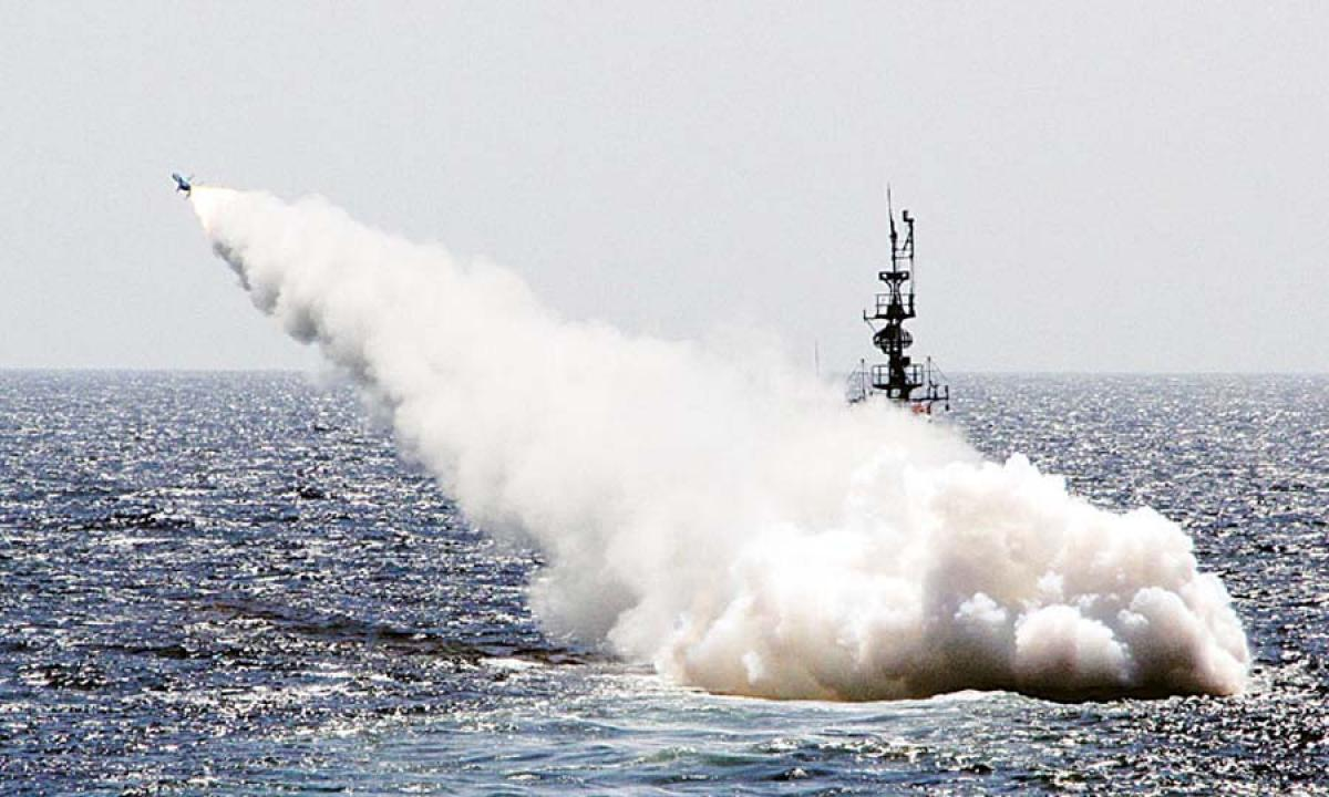 India successfully test-fires anti-ship missile from submarine in Arabian sea