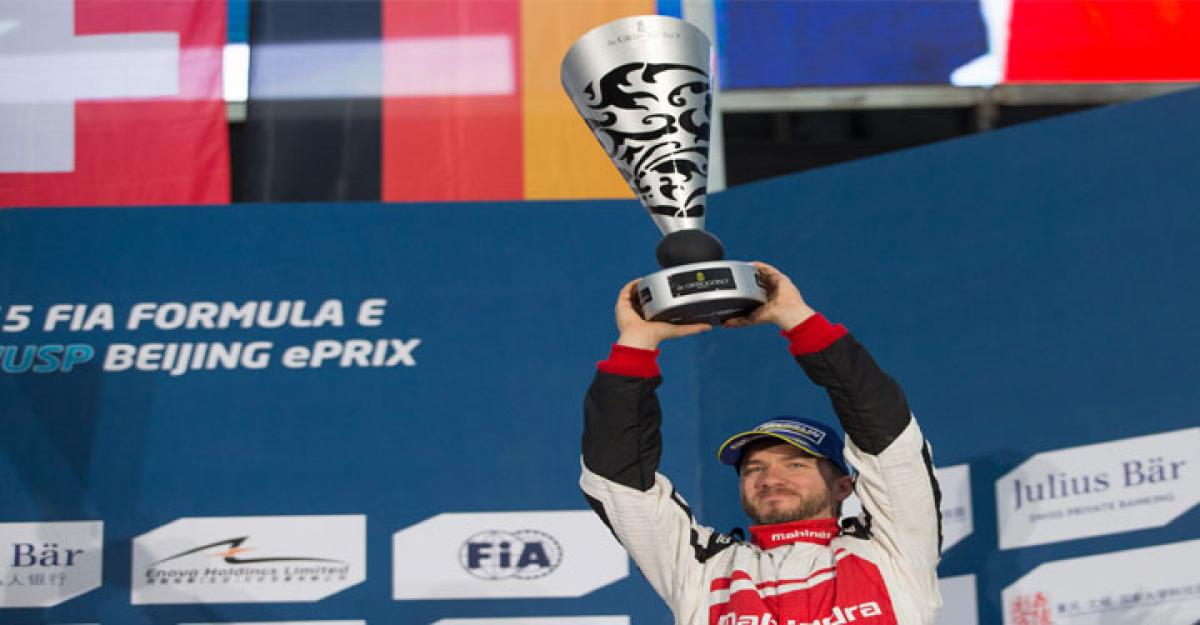 Nick Heidfeld achieves Mahindra Racing