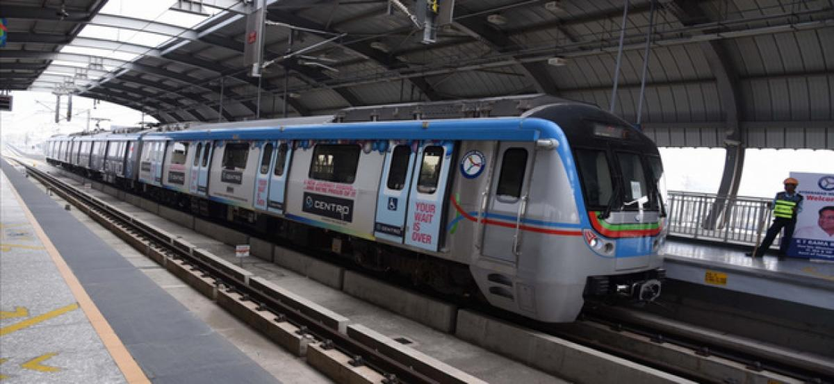 Metro Operations on Ameerpet-LB Nagar  to start from Sept 24
