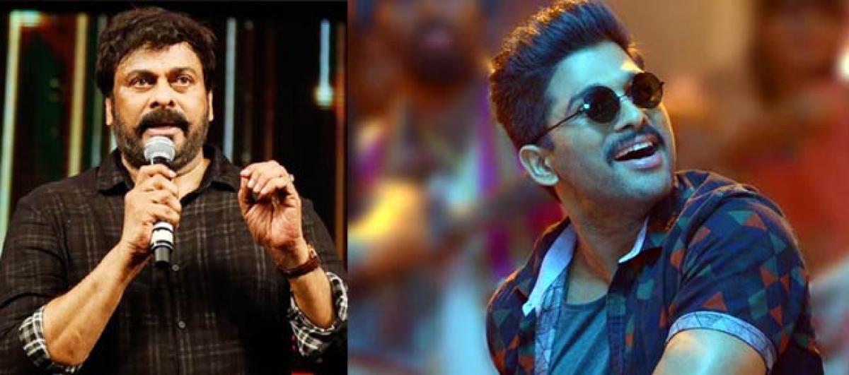 Boyapati floors megastar with Sarrainodu, Chiru all praise for Allu Arjun