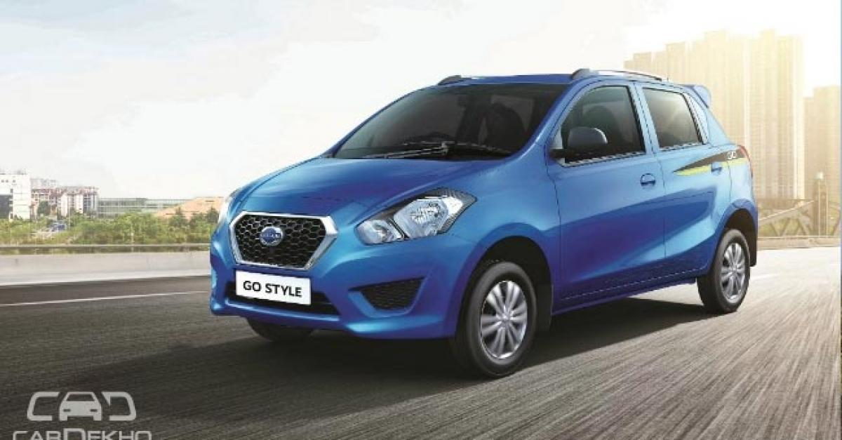 Datsun GO And GO+ Special Editions Launched