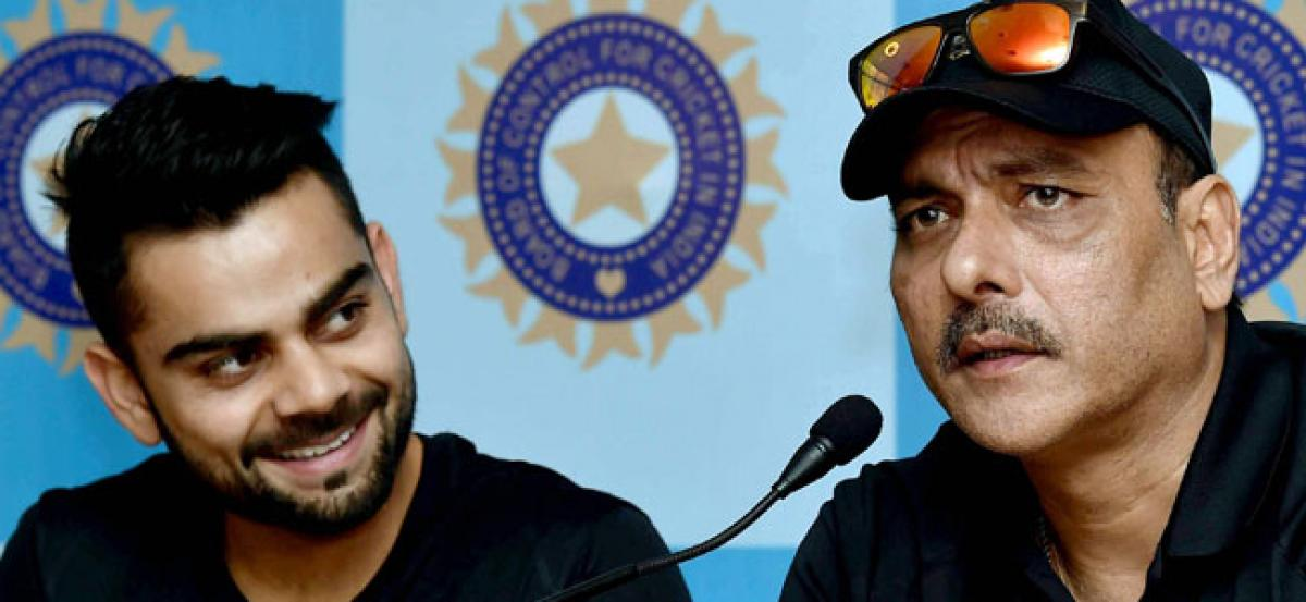 Shastri to apply for India coach: Reports
