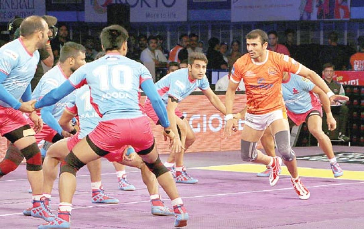 Jaipur Pink Panthers bounce back