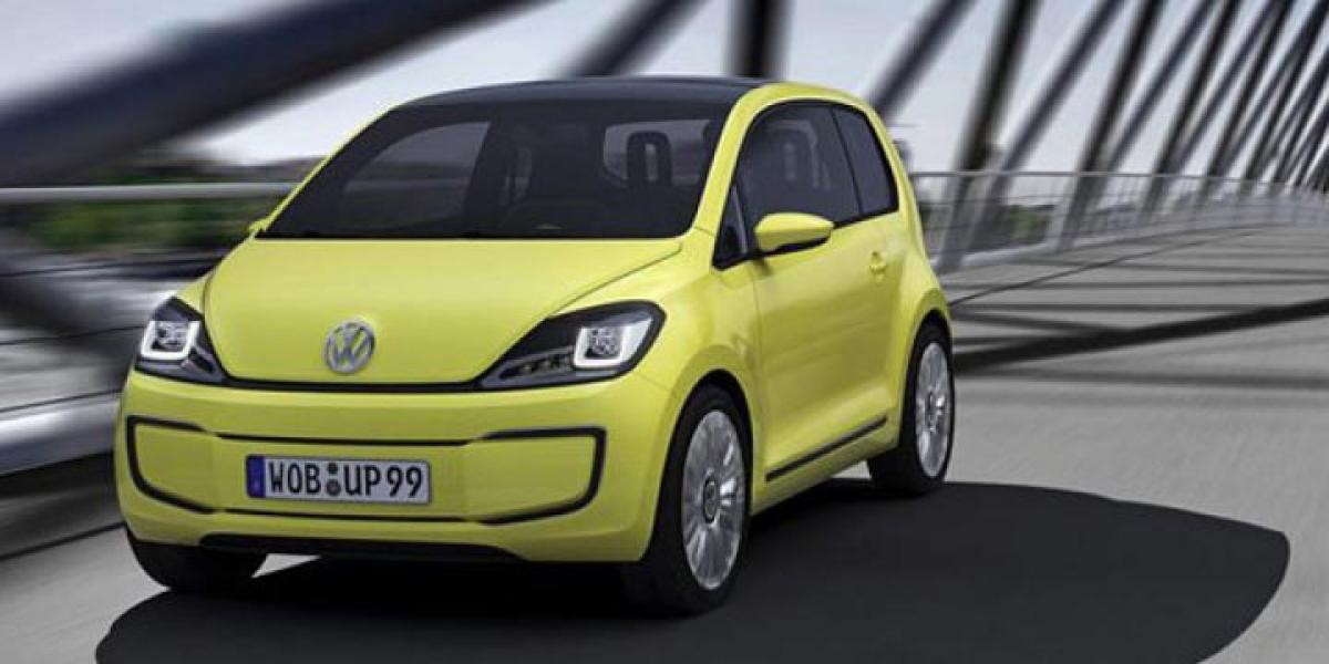 Volkswagen Up facelift revealed