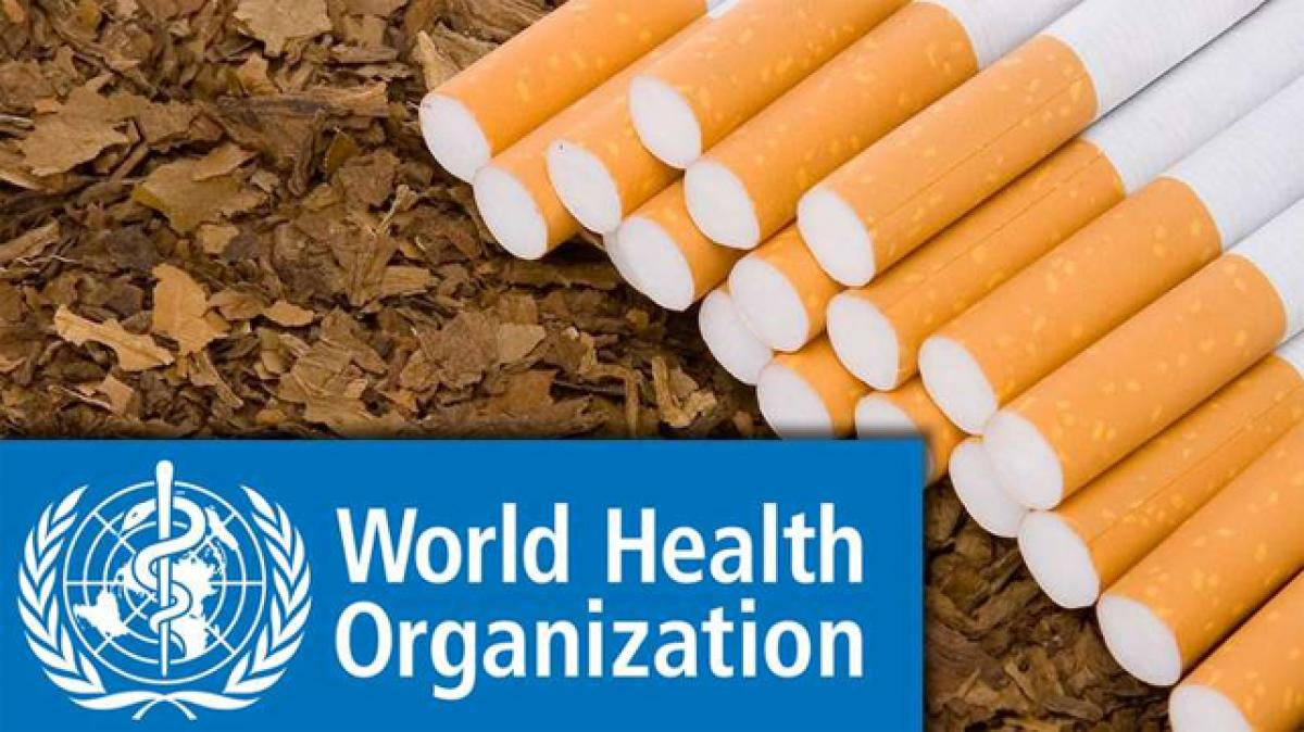 WHO calls for higher taxes on tobacco