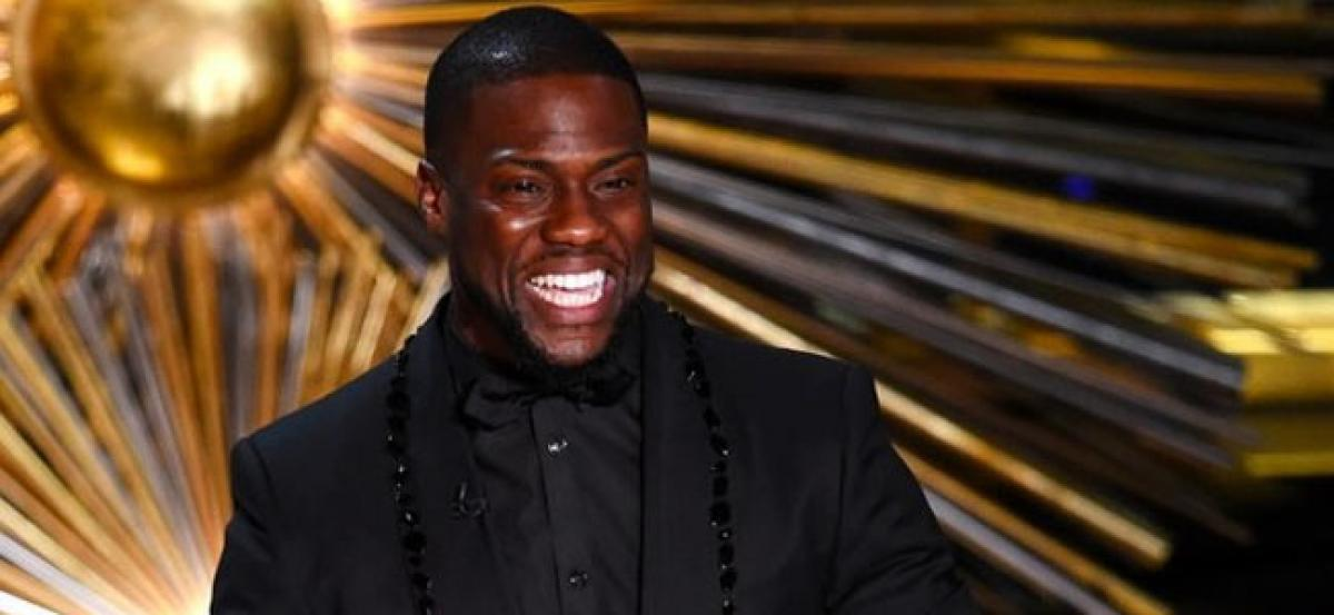 Hosting Oscars tops Kevin Harts bucket list
