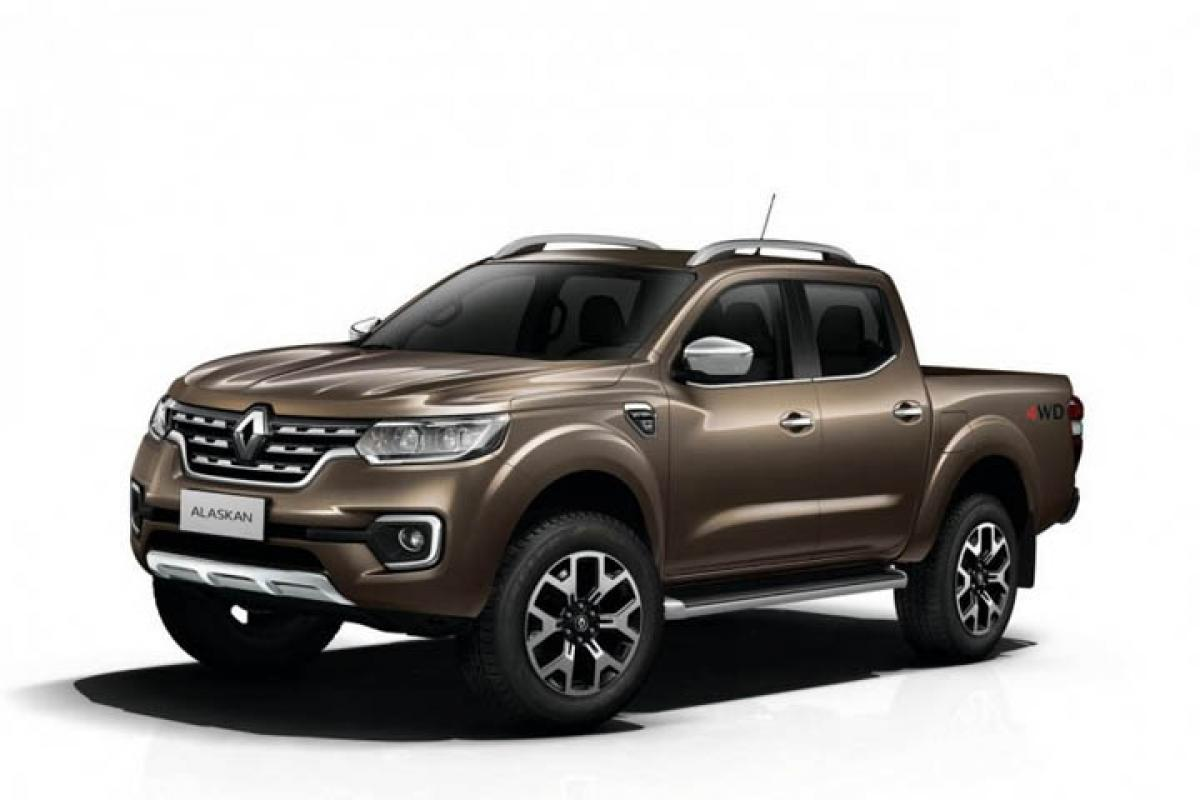 This is how Renault Alaskan pickup truck looks like