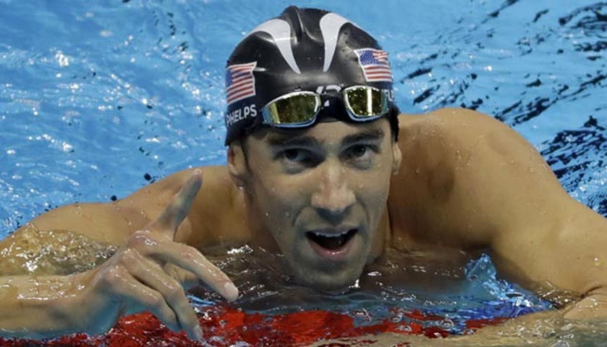 I'm done, asserts swim legend
