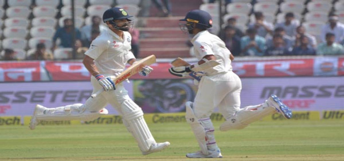 Majestic Kohli puts India on top