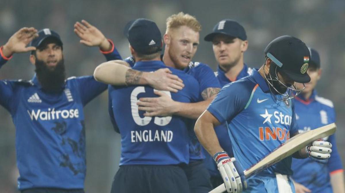 India vs England, 3rd ODI: England hold nerve to win Kolkata ODI
