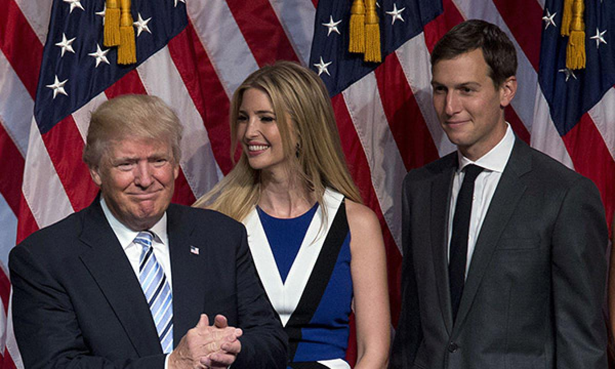 Donald Trump fights ethics law, son-in-law abides by it for job