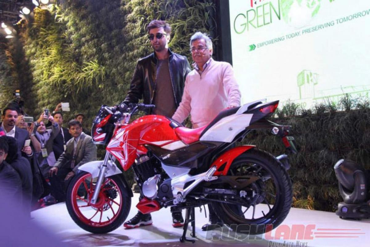 Check out: Hero Xtreme 200S features at Auto Expo 2016