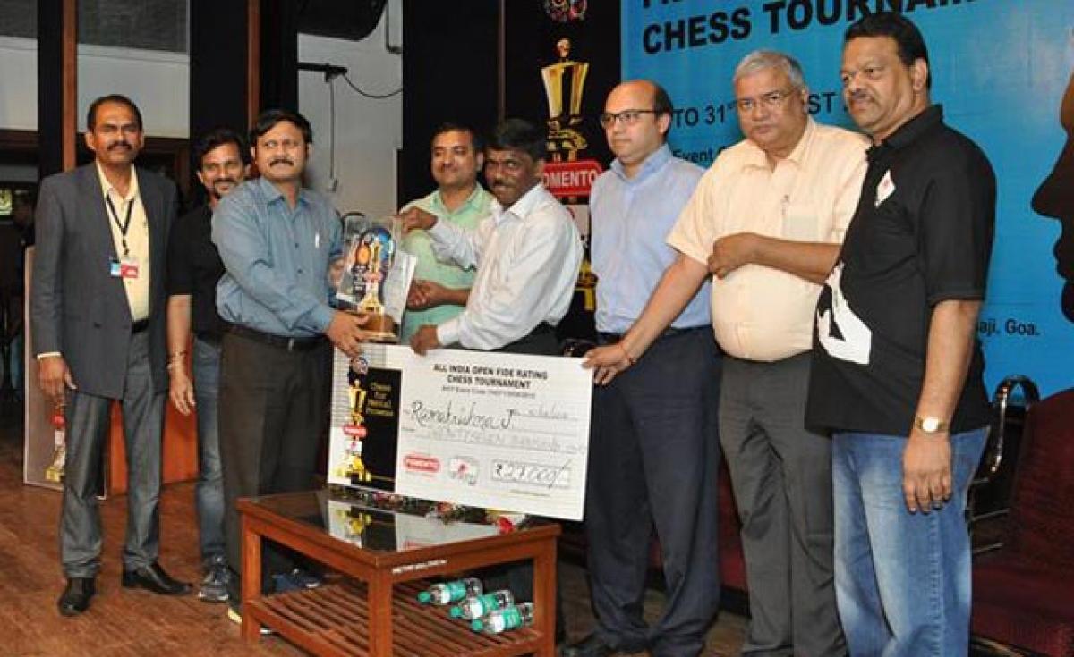 Ramakrishna wins chess title
