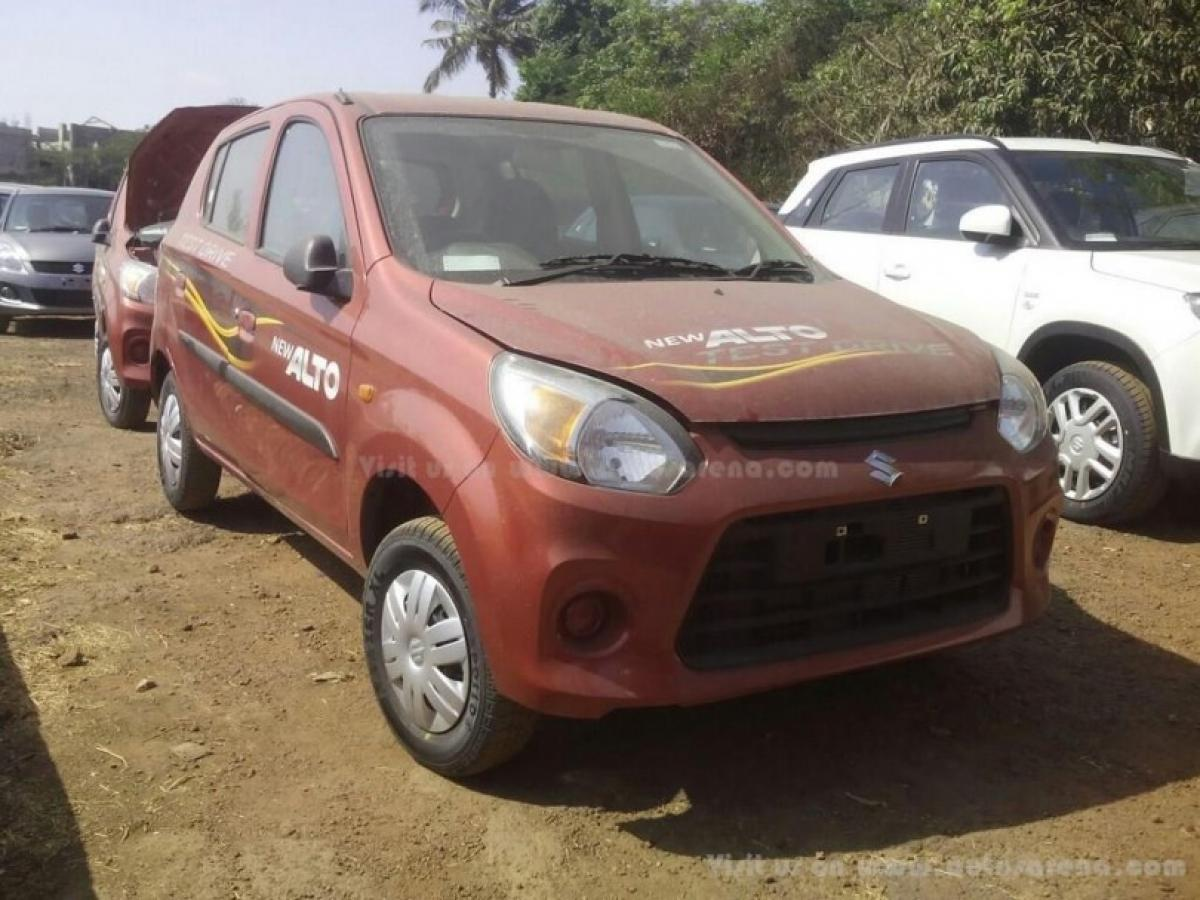 Maruti gives Alto 800 a facelift to rival a Renault Kwid