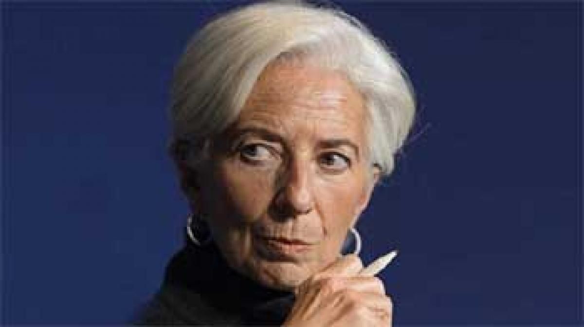 IMF chief Lagarde calls for growth-supportive monetary, fiscal policies