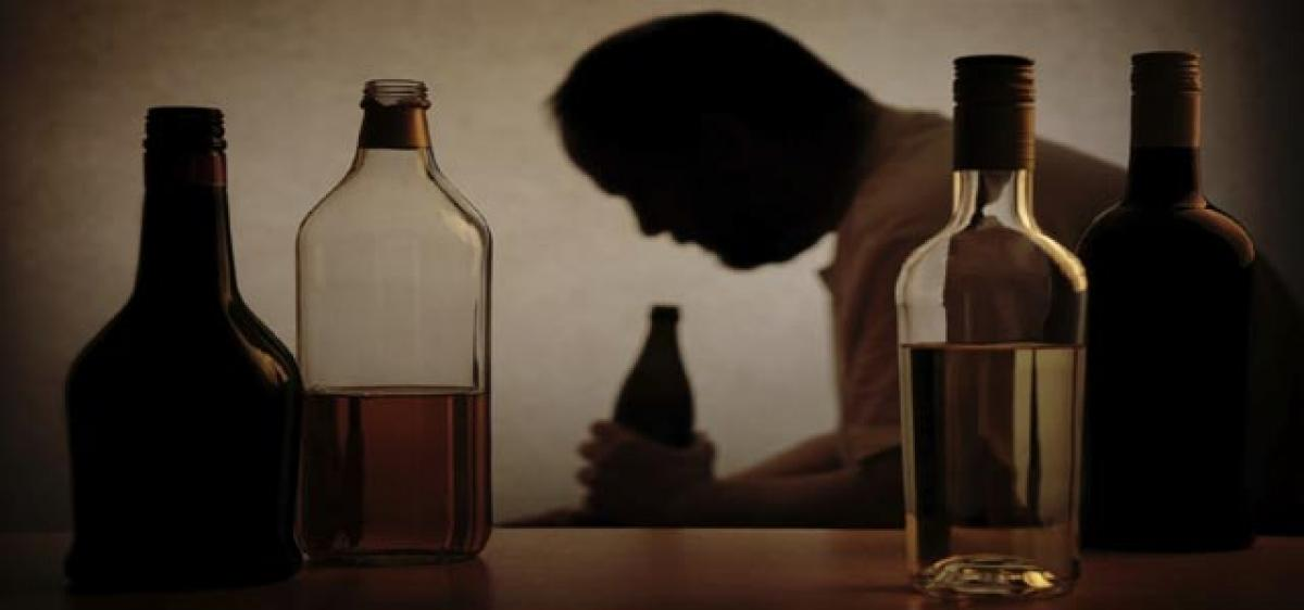 Cause and effect of alcohol addiction