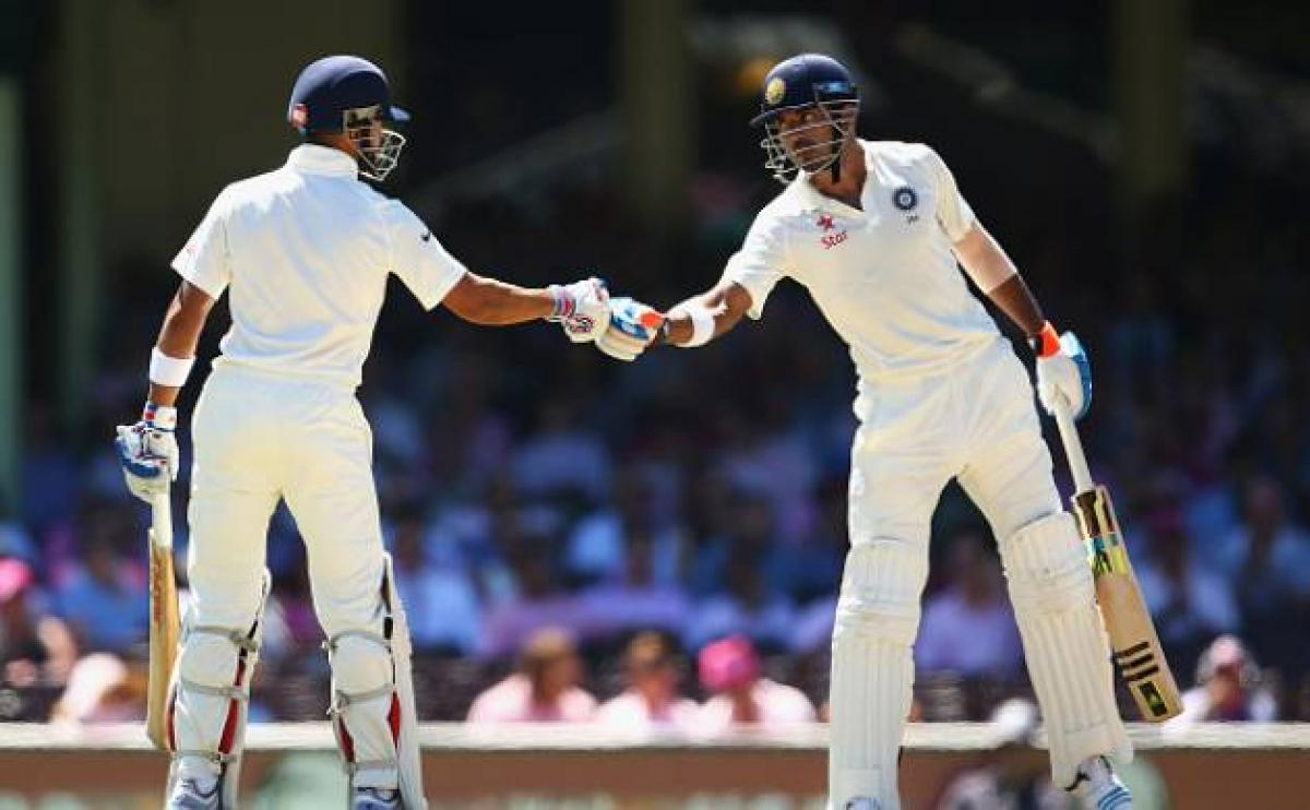 India off to steady start in 2nd innings