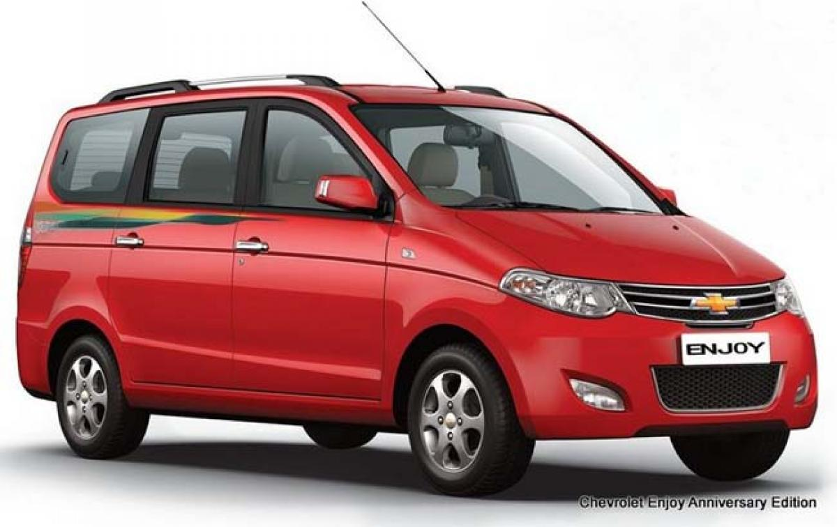Chevrolet to exit Indian MPV segment by discontinuing Enjoy