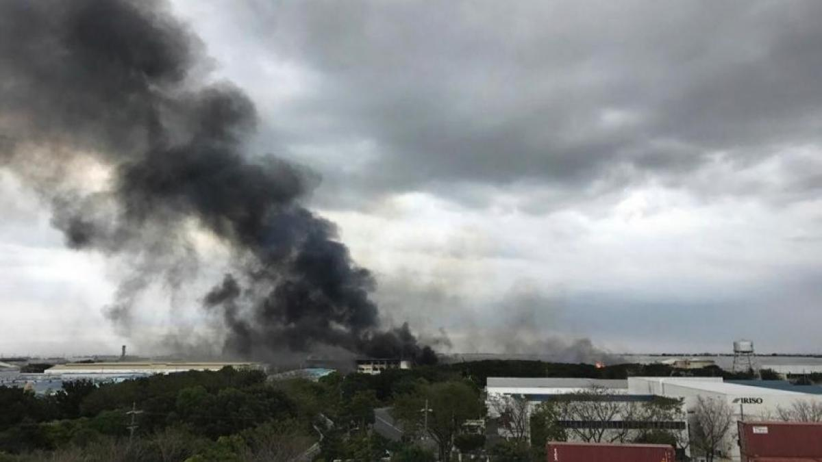 More than 100 injured in fire at Philippines factory complex
