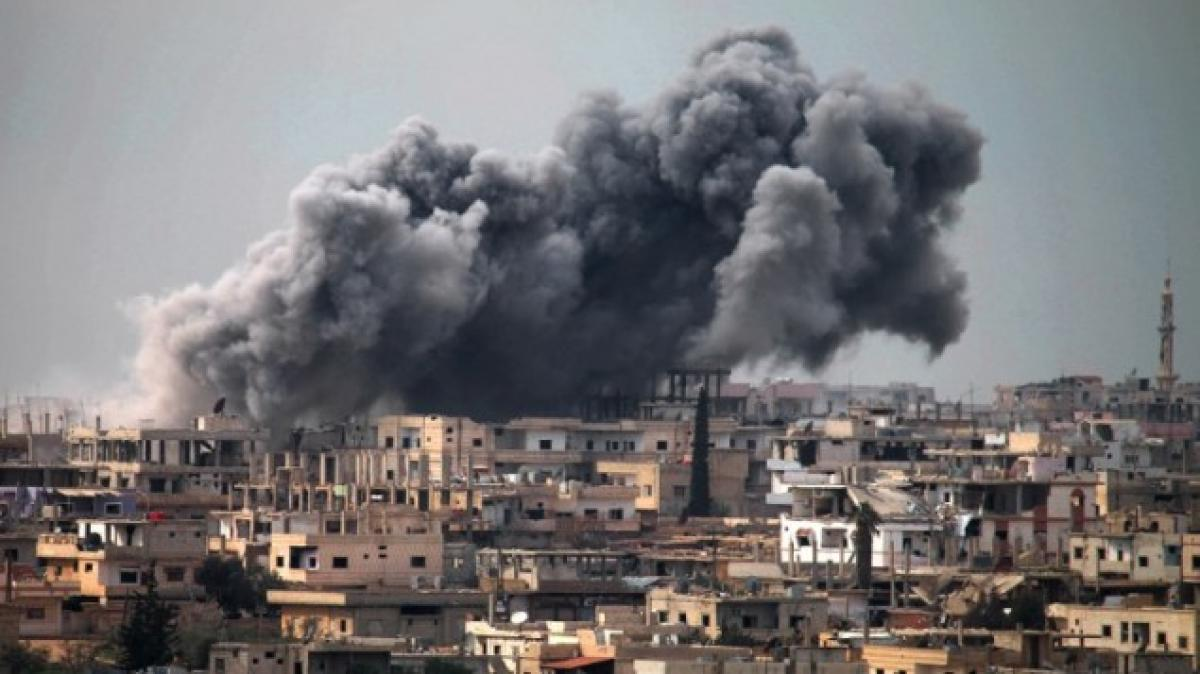 US Military claims deadly air strike on Al-Qaeda meet in Syria, denies targeting mosque