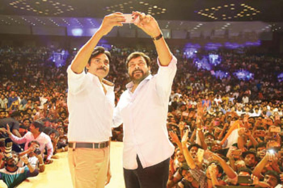 Chiru wants Pawan to balance between films & politics