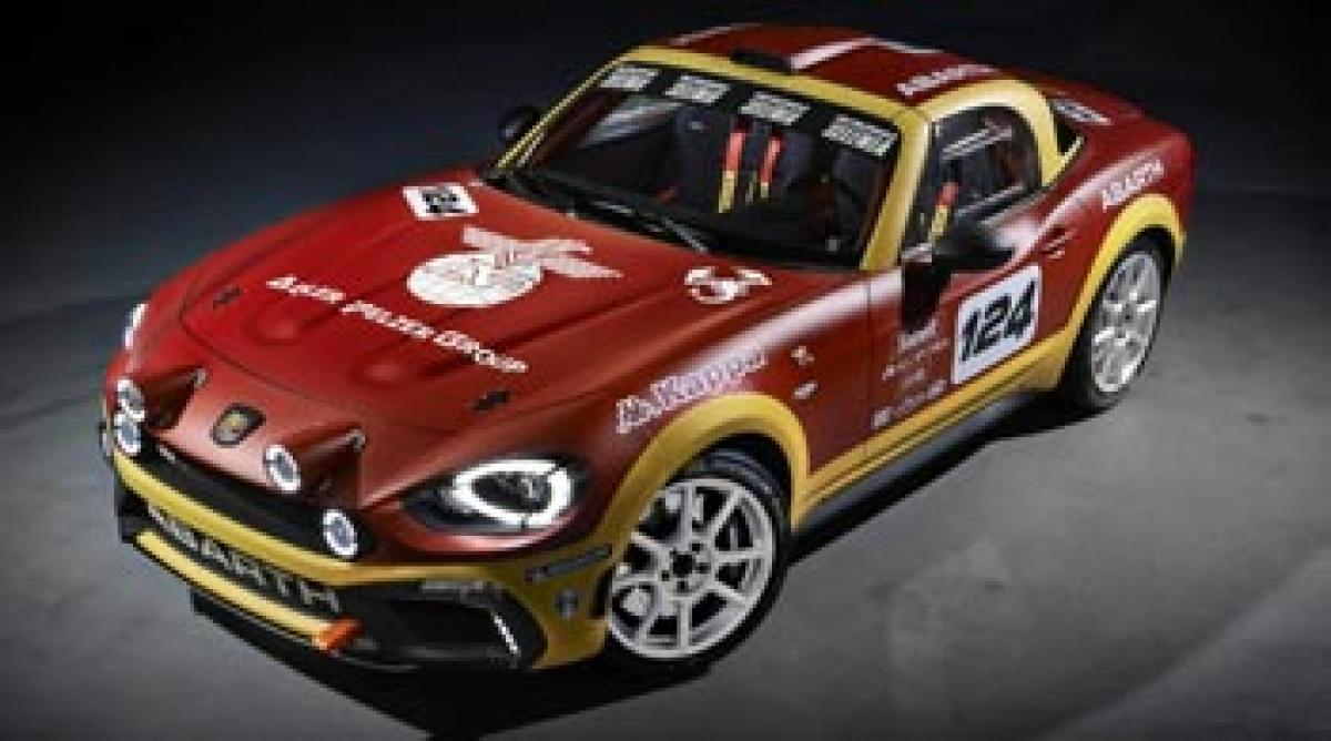 Rally-spec Abarth 124 unveiled