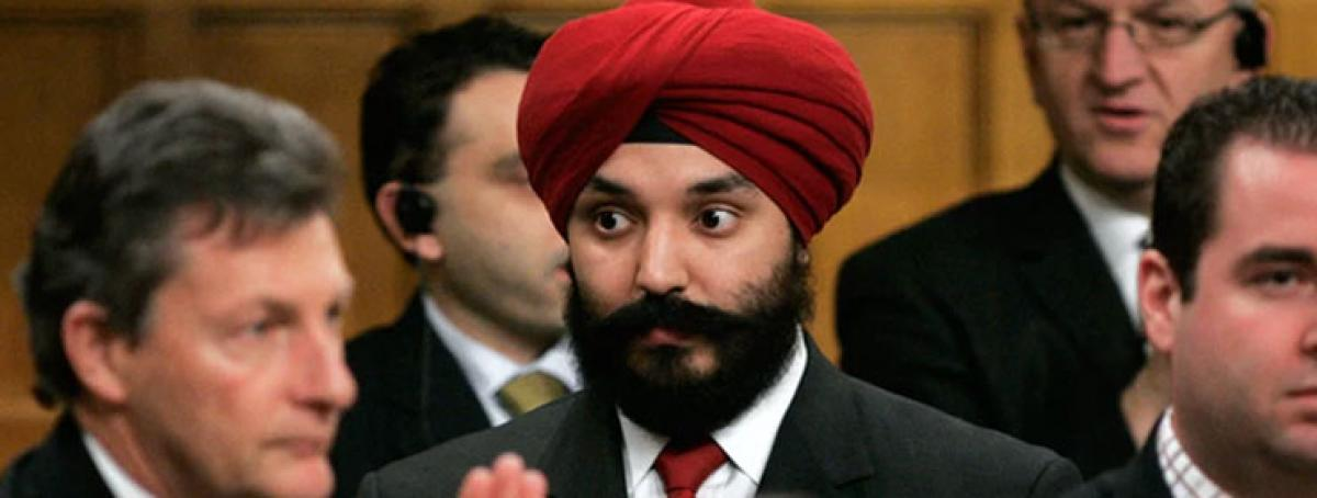 Sikh MP in Canada may get Cabinet berth