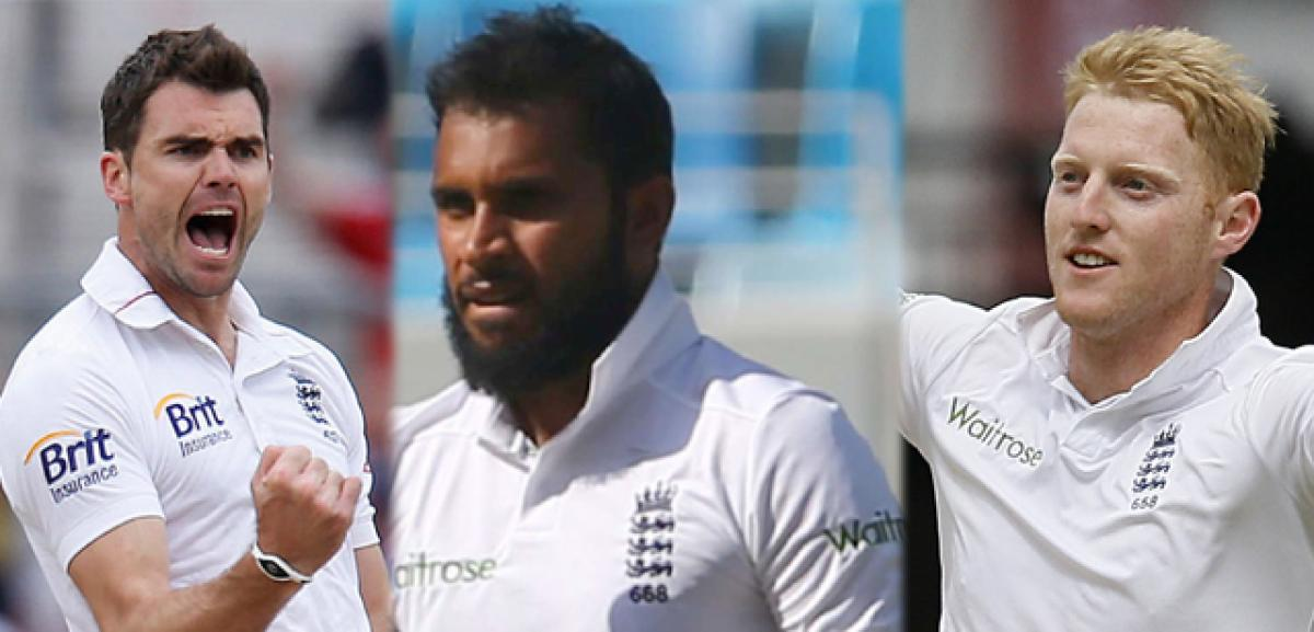 Pakistan test at Old Trafford: England recalls Anderson, stokes and Rashid