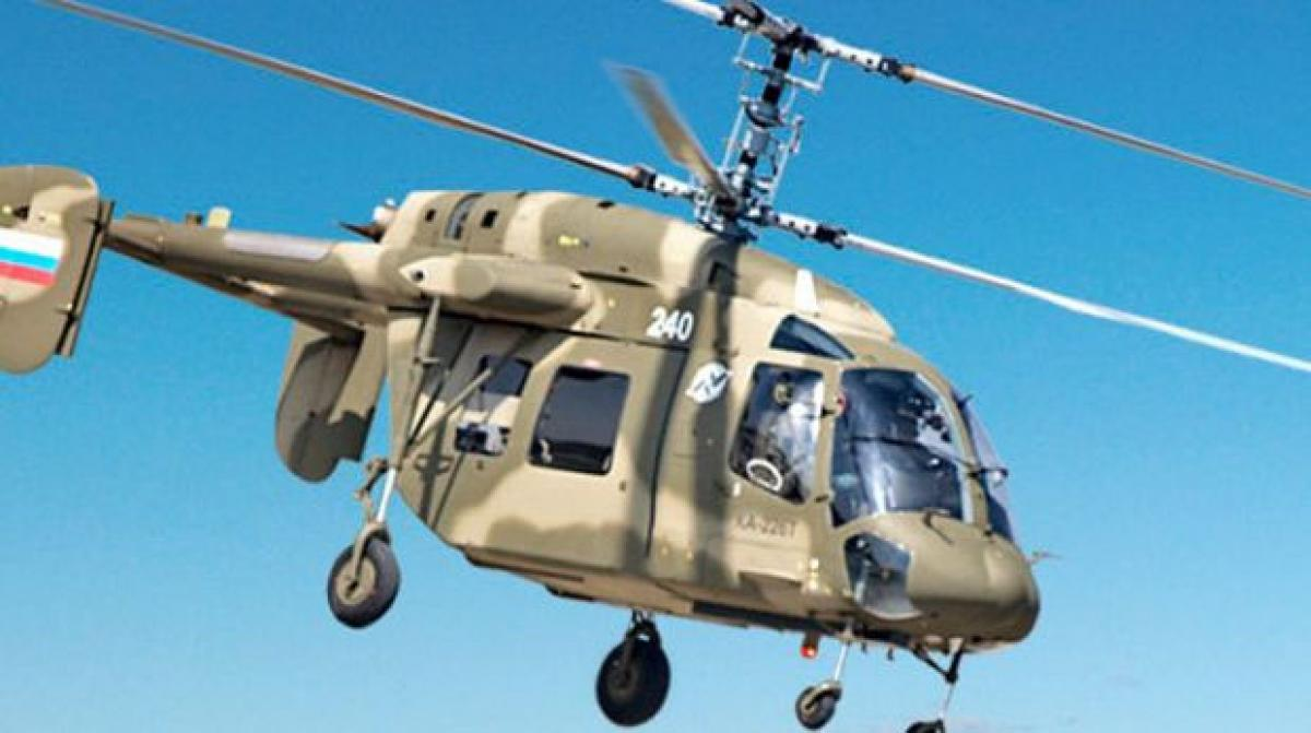 Hindustan Aeronautics ties up for manufacturing Russian Kamov helicopters