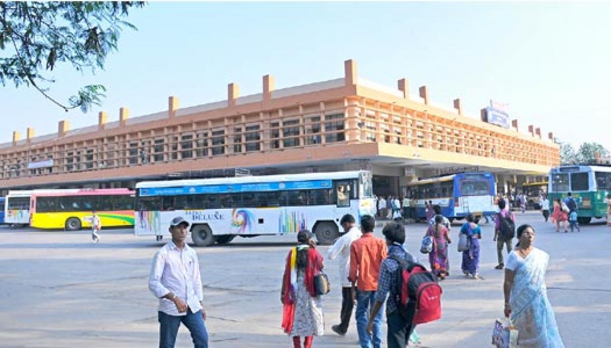 Facelift to Guntur bus stand