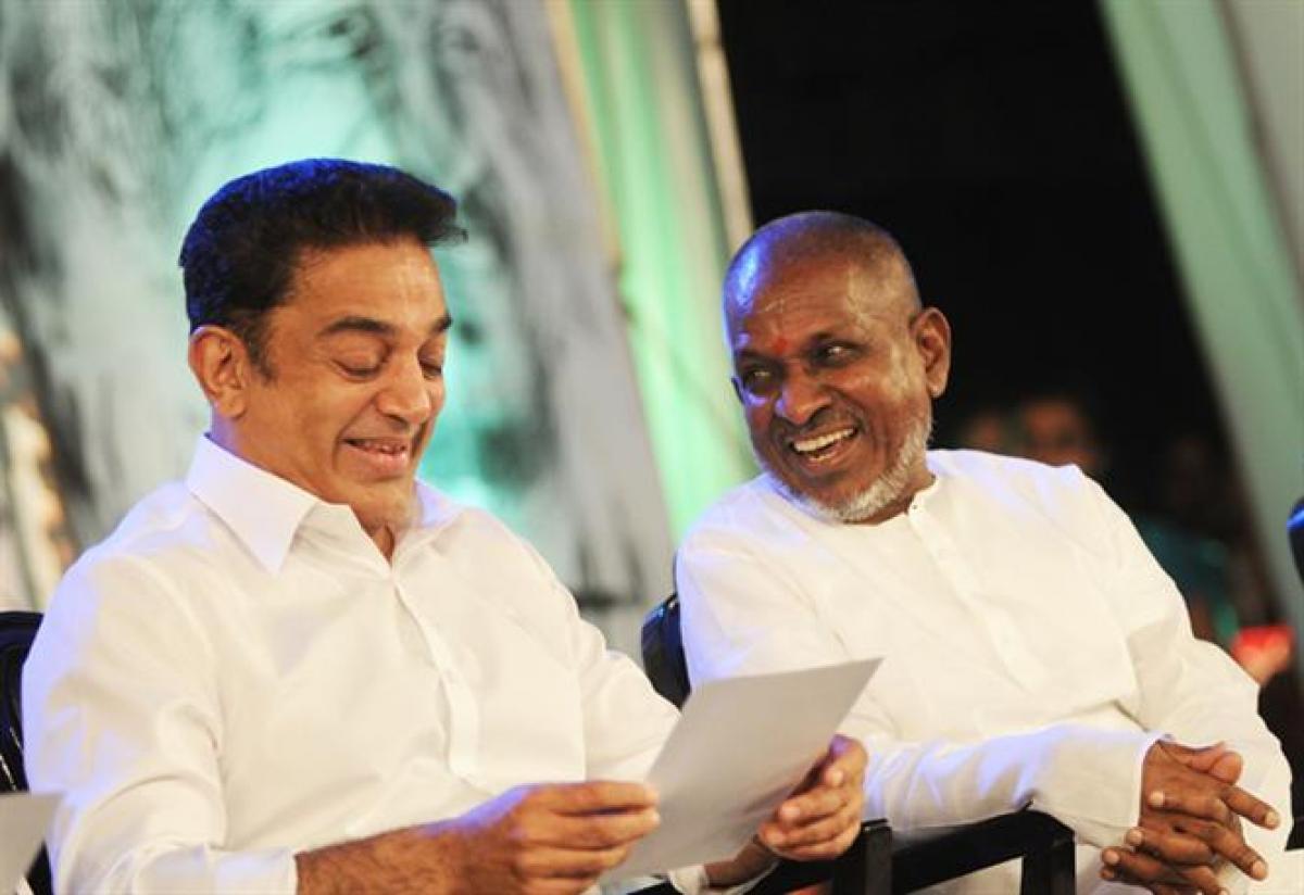 Illayaraja to score music for Kamal Haasan