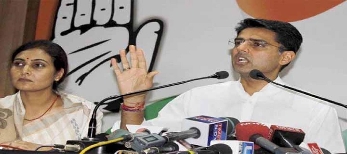 Be sensitive, Sachin Pilot tells BJP govt on Pakistan Hindus staying back