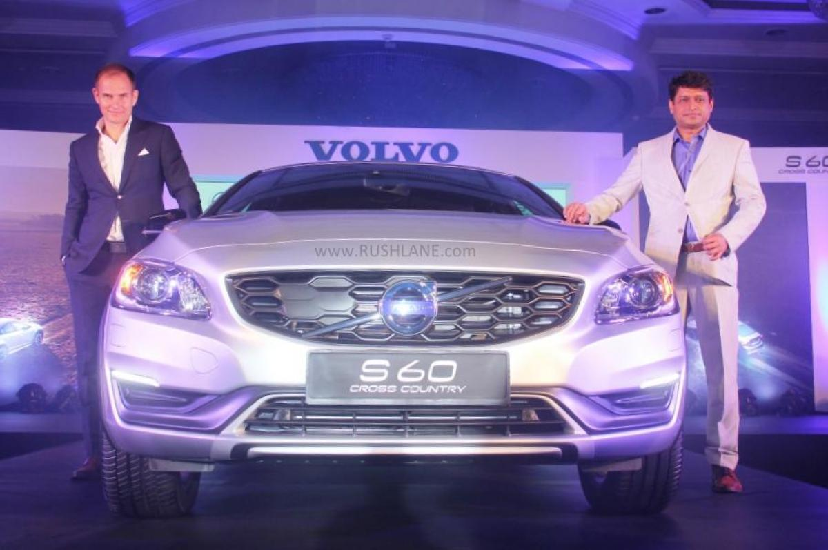 Volvo S60 Cross Country launched at RS 38.9 lakh in India