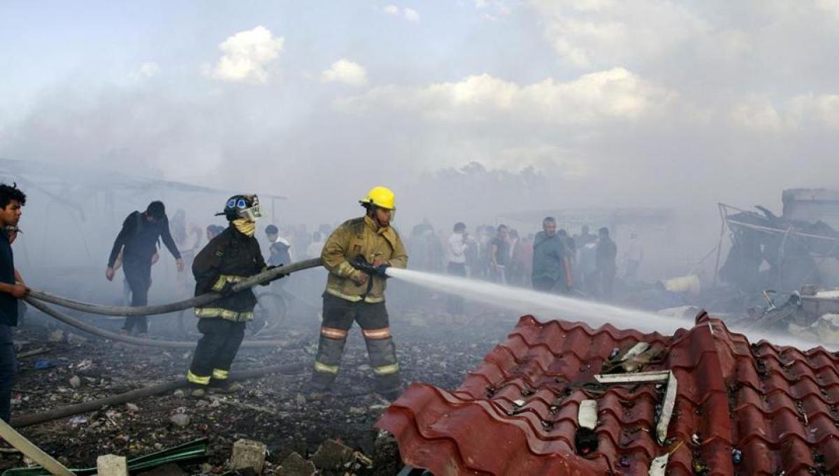 Mexico fireworks market blast: 29 dead, 70 injured