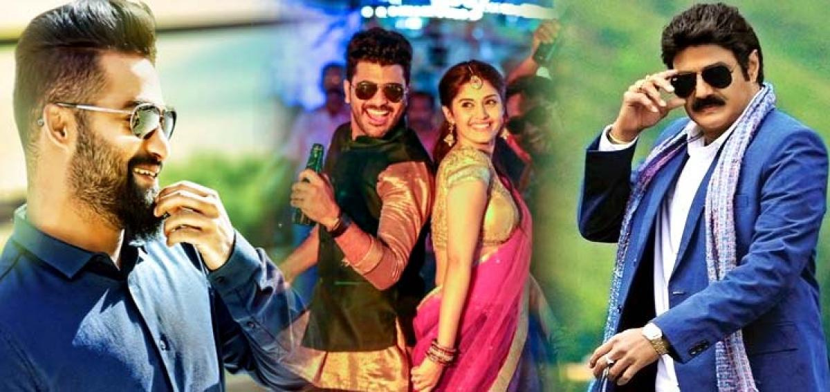 NTR,  Balayya films no competition to Sharwanands Express Raja