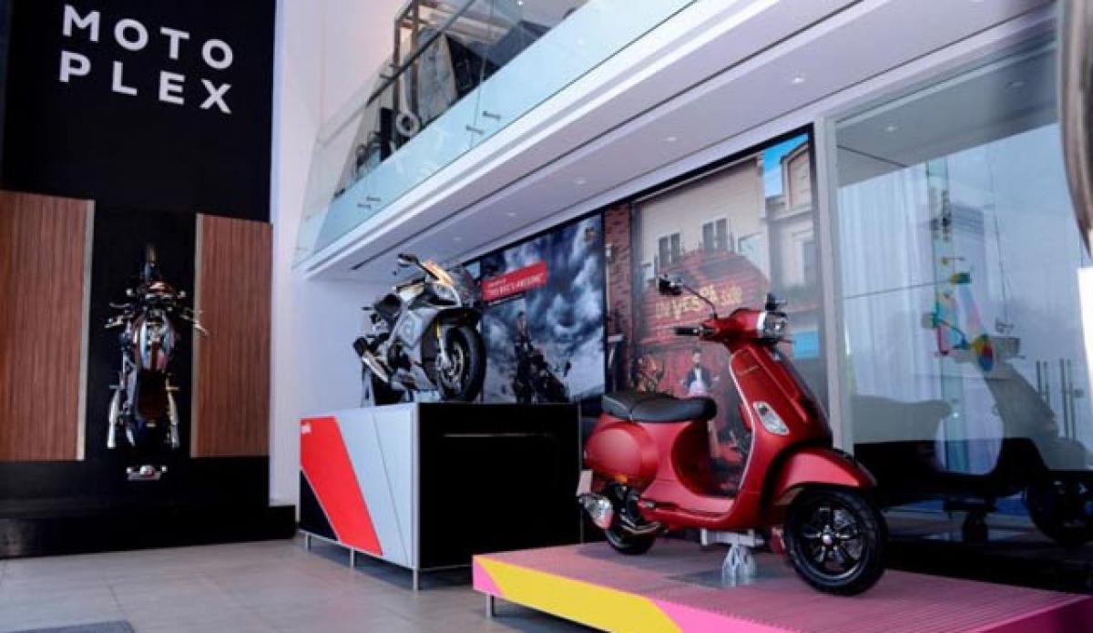 Piaggio to open four Motoplex stores in India