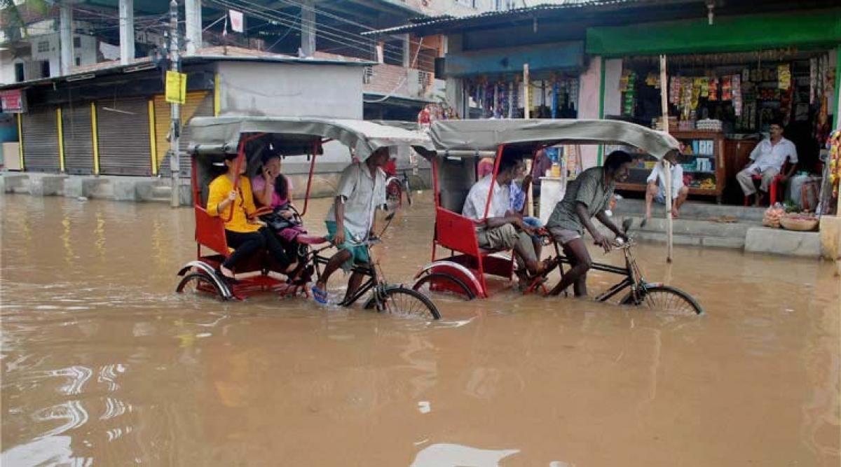 News of Assam flood
