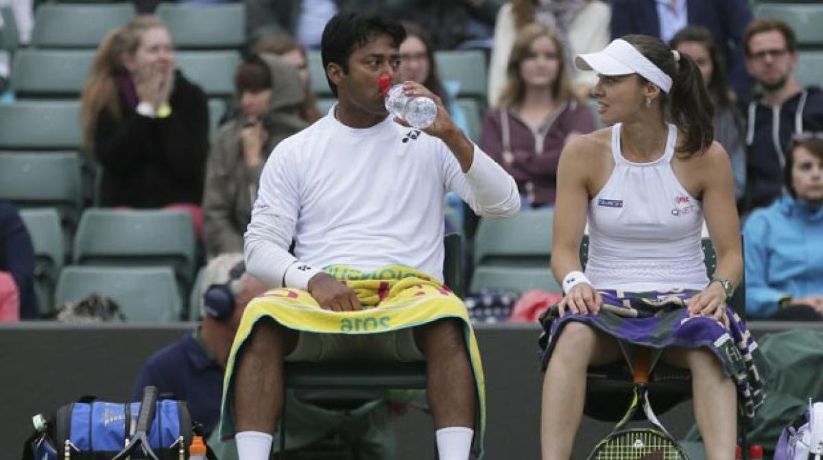 Wimbledon 2016: Paes, Hingis knocked out